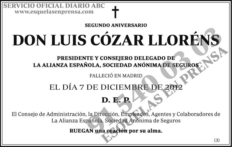 Luis Cózar Lloréns